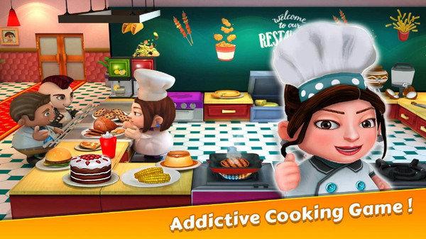 廚師餐廳烹飪 圖1